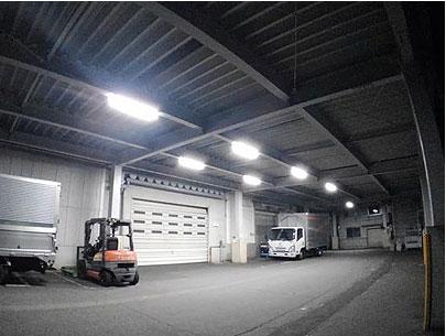工場照明のLED化推進